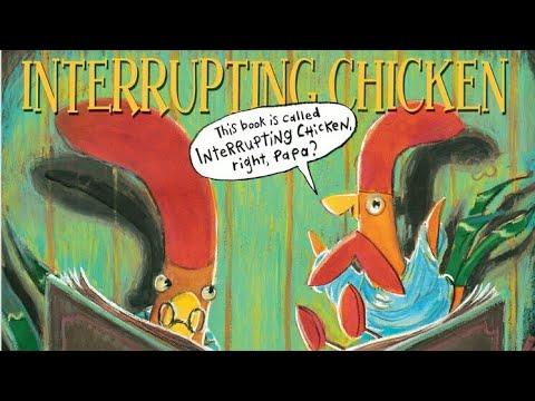Interrupting chicken - read aloud by mommy - read along - ar book