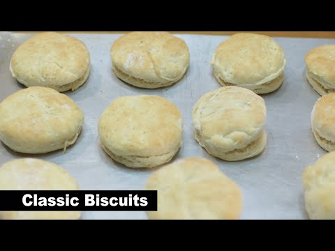 How to make basic biscuits   easy classic homemade biscuit recipe