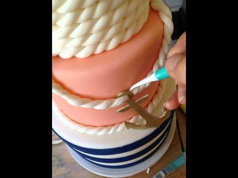 How to make fondant rope