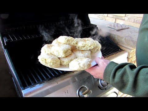 Biscuits on the grill   useful knowledge