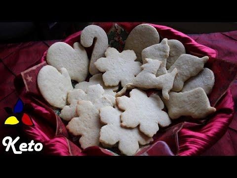Keto sugar cookies   sugar free cookies  keto recipes