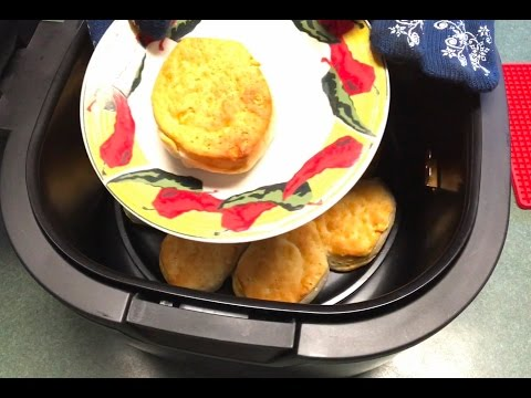 Air fryer canned biscuits (12qt cooks essentials)