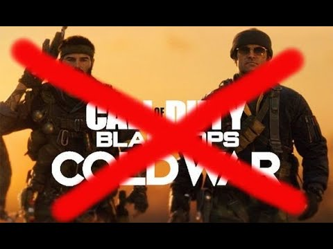 Black ops cold war but activision wont let me play it