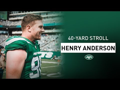 40-yard stroll: henry anderson talks about his favorite video games | new york jets | nfl
