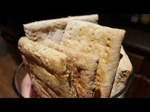 How to make emergency survival biscuits (hardtack)