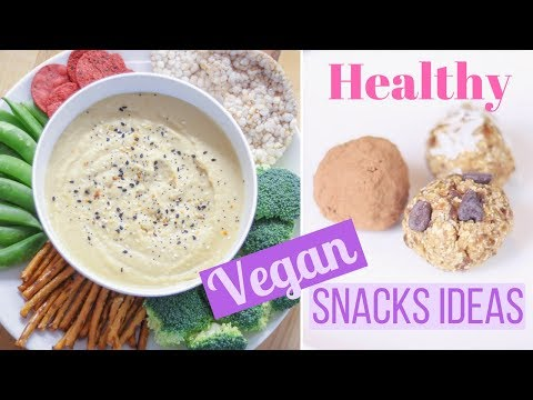Healthy vegan snack recipes the trick to filling snacks