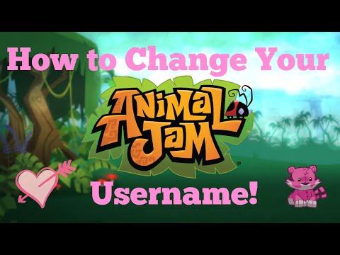 How to change your animal jam username! easy 2016