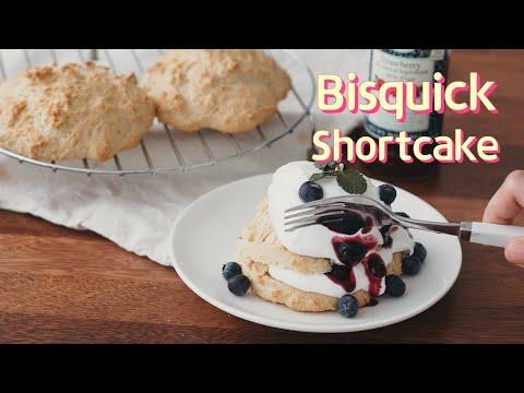 Bisquick shortcake recipe