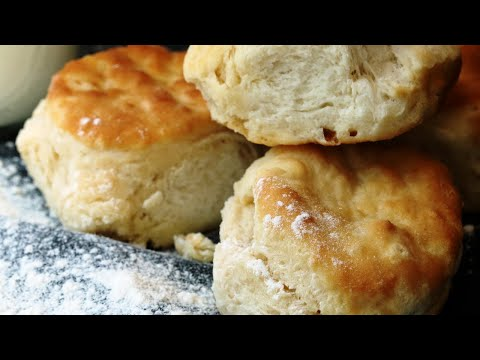2 ingredient biscuits easy, fast and delicious!
